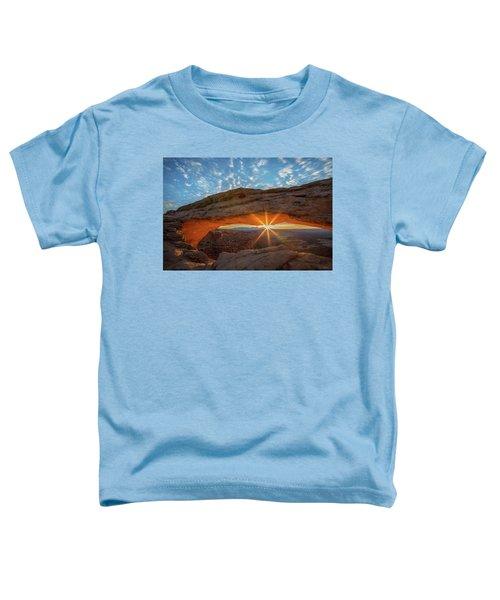 Mesa Arch Sunrise Toddler T-Shirt
