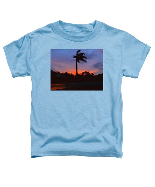 Miami Sunset Toddler T-Shirt