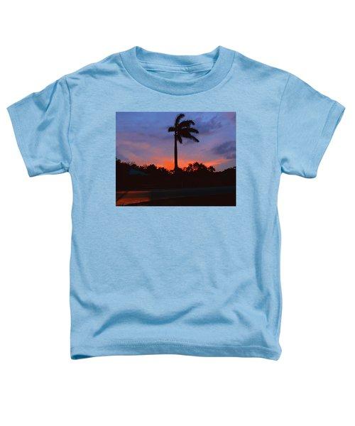Miami Sunset Toddler T-Shirt