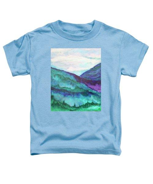 Mini Mountains Majesty Toddler T-Shirt