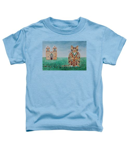 Mission Concepcion Cat Toddler T-Shirt