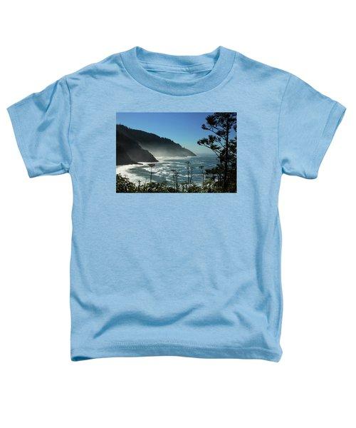 Misty Coast At Heceta Head Toddler T-Shirt