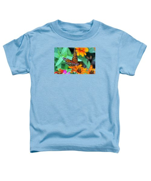 Monarch Butterfly Resting Toddler T-Shirt