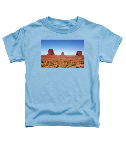 Monument Valley Utah The Mittens Toddler T-Shirt