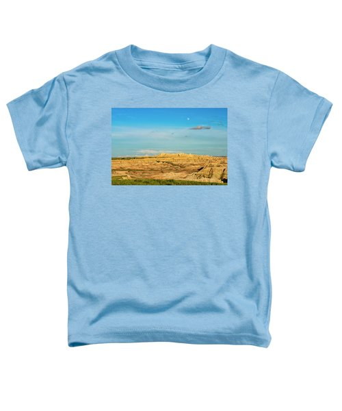 Moon Over The Badlands Toddler T-Shirt