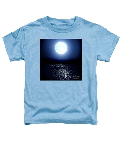 Moonlight Toddler T-Shirt by Tatsuya Atarashi