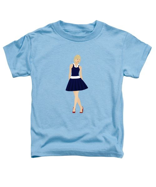 Toddler T-Shirt featuring the digital art Morgan by Nancy Levan