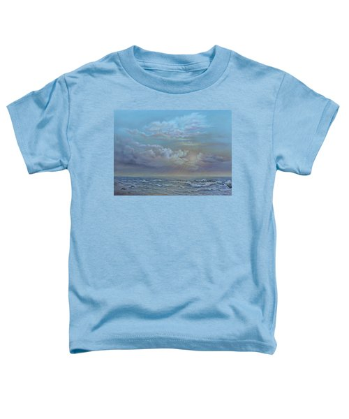 Morning At The Ocean Toddler T-Shirt