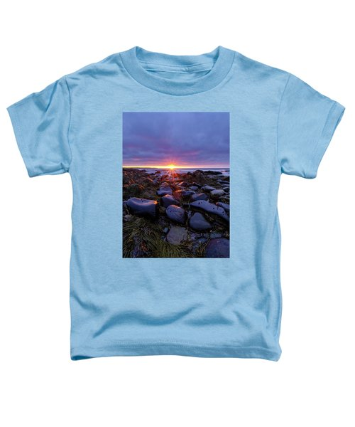 Morning Fire, Sunrise On The New Hampshire Seacoast  Toddler T-Shirt