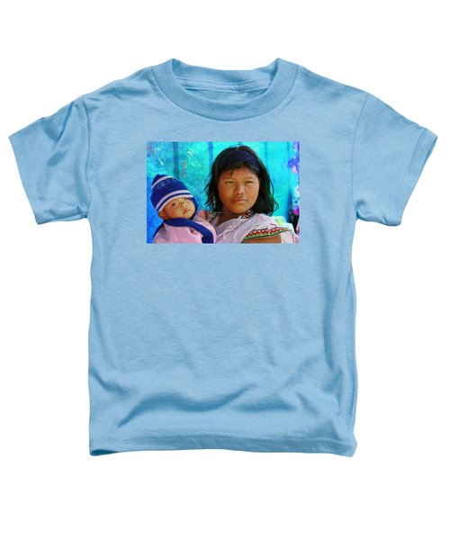 Kuna Yala - Mother And Child Toddler T-Shirt