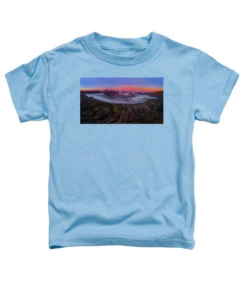Mount Bromo Misty Sunrise Toddler T-Shirt