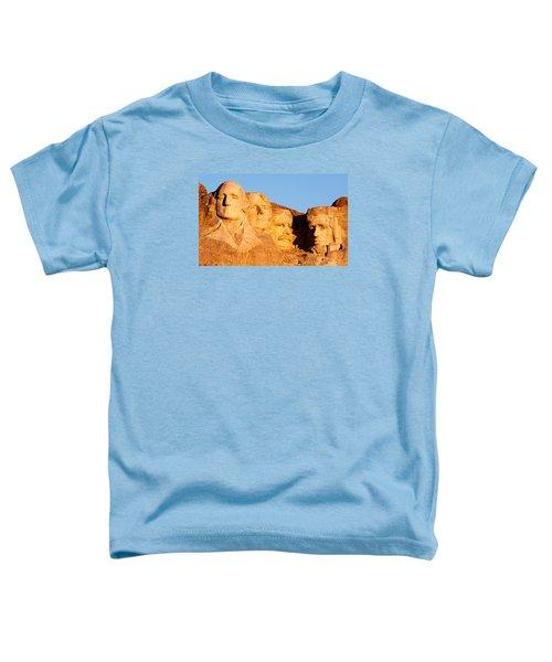 Mount Rushmore Toddler T-Shirt by Todd Klassy