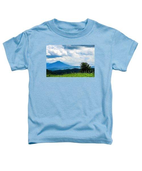 Mountain Rain Toddler T-Shirt