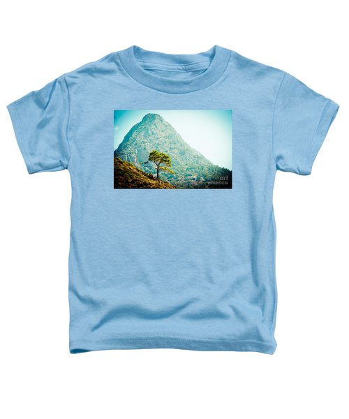 Mountain With Pine Artmif.lv Toddler T-Shirt