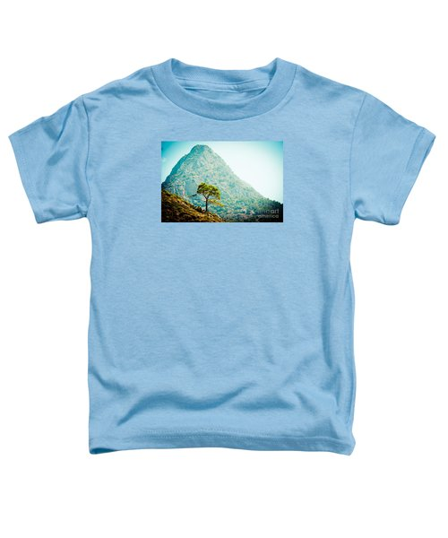 Mountain With Pine Artmif.lv Toddler T-Shirt