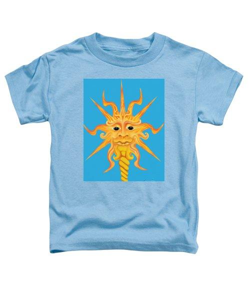 Mr. Sunface Toddler T-Shirt