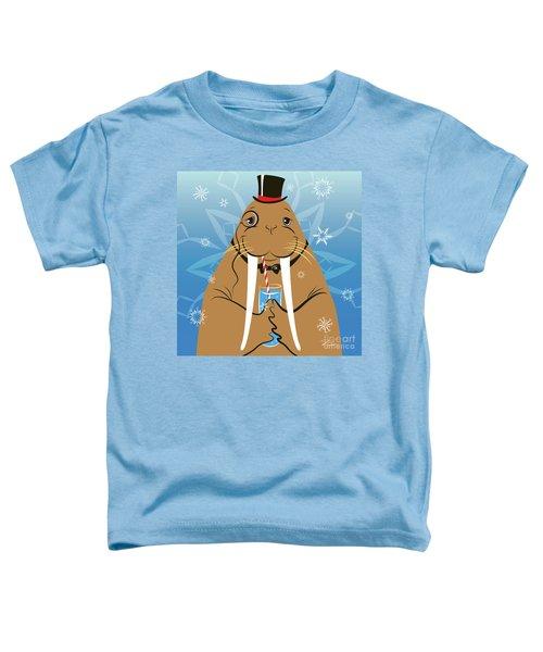 Mr. Walrus Toddler T-Shirt
