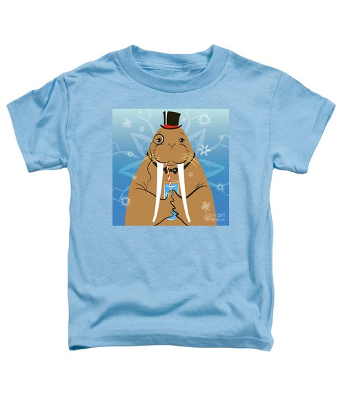 Mr. Walrus Toddler T-Shirt