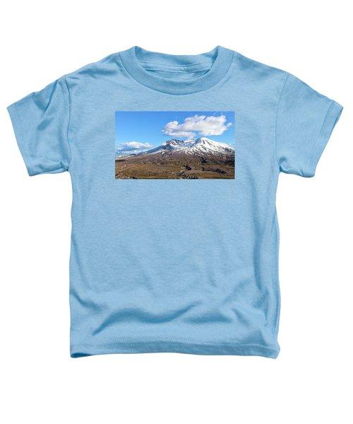 Mt Saint Helens Toddler T-Shirt