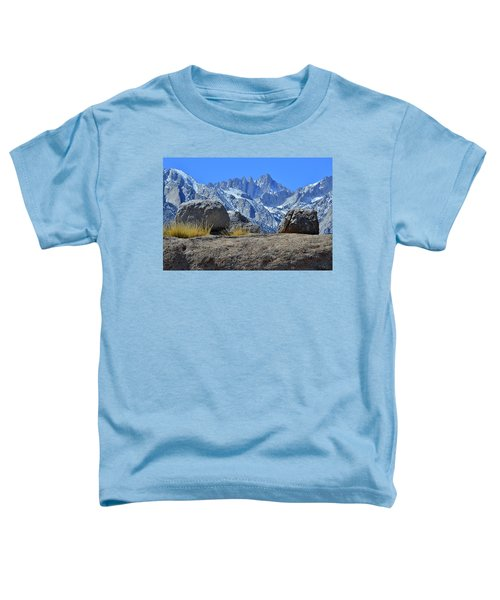 Mt. Whitney - Highest Point In The Lower 48 States Toddler T-Shirt