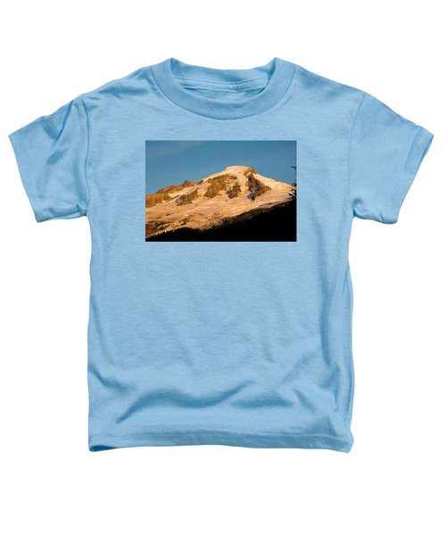 Mt.baker At Sunset  Toddler T-Shirt