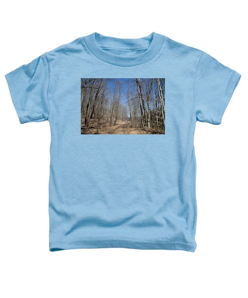 Toddler T-Shirt featuring the photograph Mud Season In The Adirondacks by David Patterson