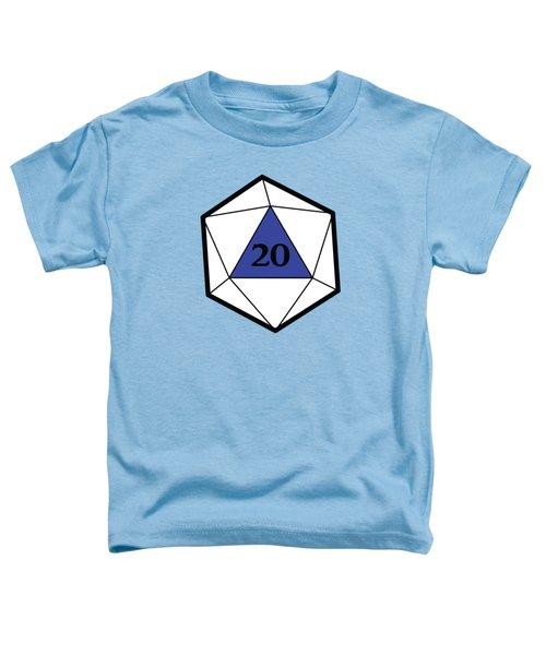 Natural 20 Toddler T-Shirt by Carlo Manara