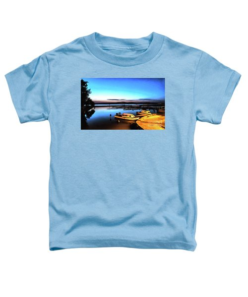 Night Port Painting Toddler T-Shirt