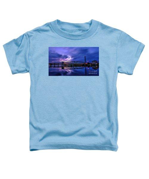 Night Swing Bridge Toddler T-Shirt