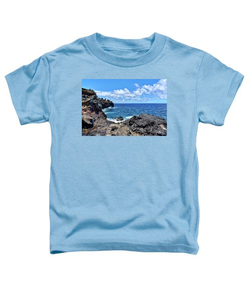 Northern Maui Rocky Coastline Toddler T-Shirt