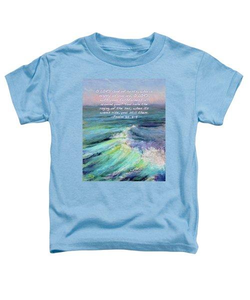 Ocean Symphony With Bible Verse Toddler T-Shirt