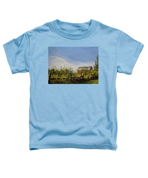 October Fence Toddler T-Shirt