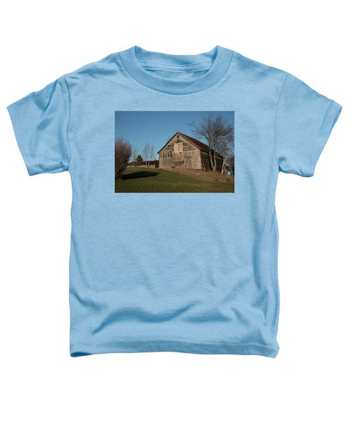 Old Barn On A Hill Toddler T-Shirt
