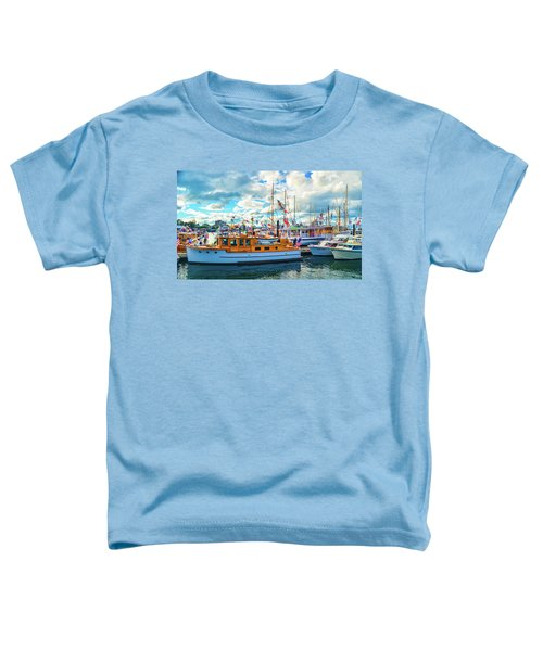 Old Boats Toddler T-Shirt