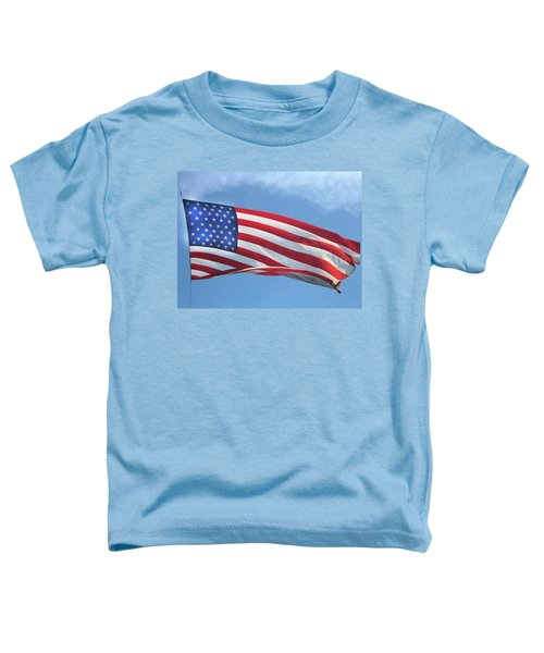 Old Glory Never Fades Toddler T-Shirt