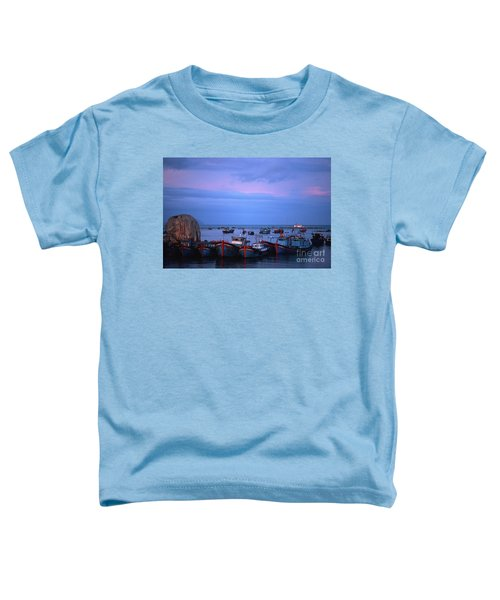 Old Port Of Nha Trang In Vietnam Toddler T-Shirt