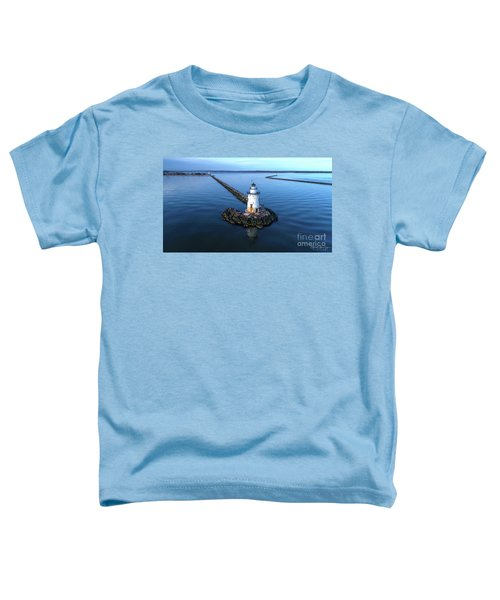 Old Saybrook Outer Lighthouse Toddler T-Shirt