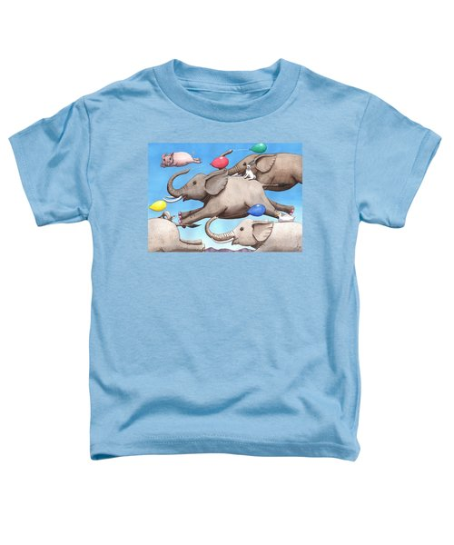 Only Way To Fly Toddler T-Shirt