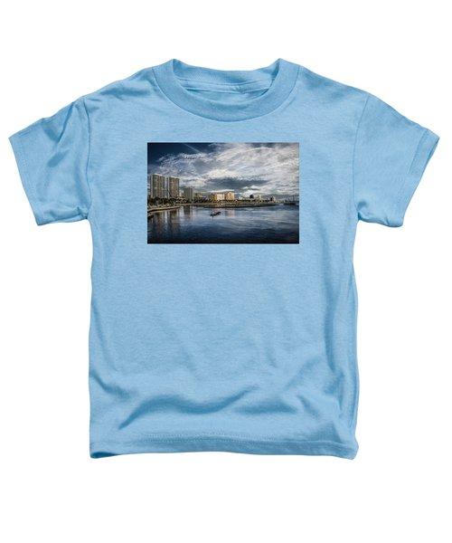 Overlooking West Palm Beach Toddler T-Shirt
