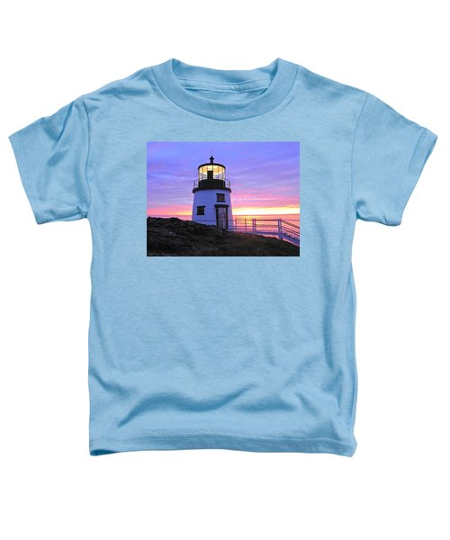 Owls Head Light Toddler T-Shirt