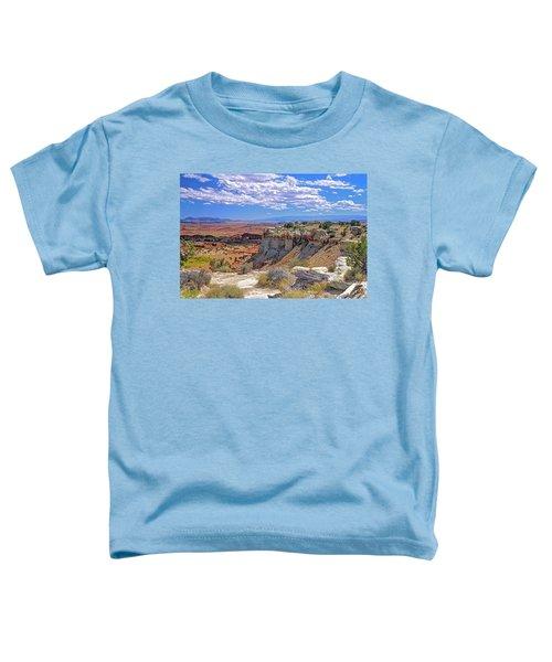 Painted Desert Of Utah Toddler T-Shirt