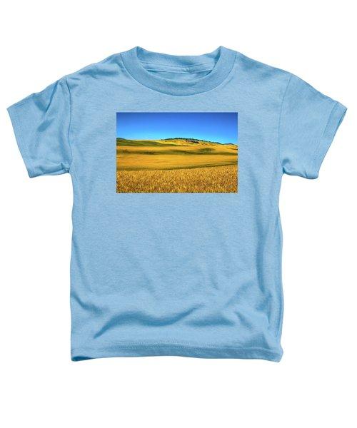 Palouse Wheat Field Toddler T-Shirt