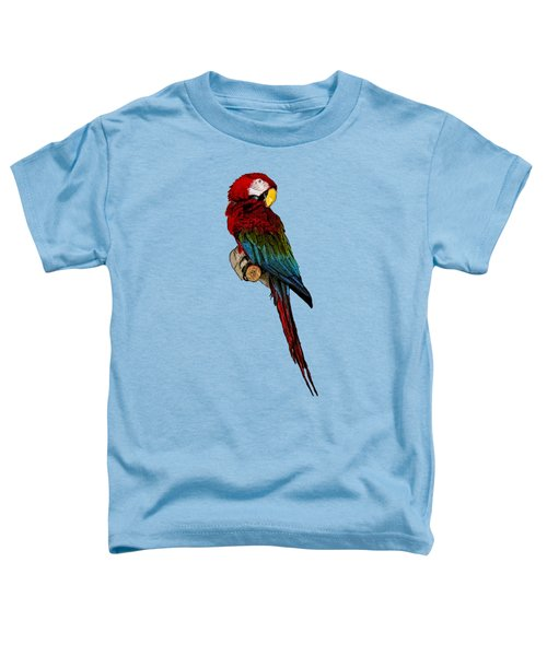 Parrot Art Toddler T-Shirt