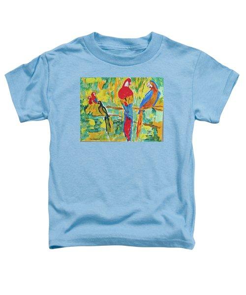 Parrots Toddler T-Shirt