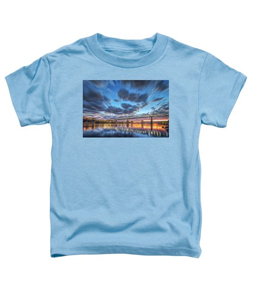 Passing Clouds Above Chattanooga Toddler T-Shirt