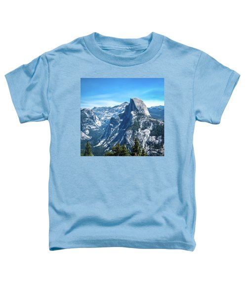 Peak Of Half Dome- Toddler T-Shirt