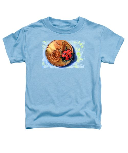 Penny And Lady Bug Toddler T-Shirt