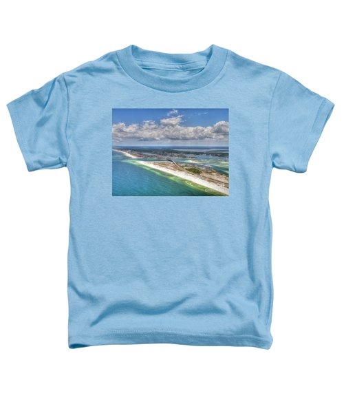 Perdido Pass Aerial 3029 Toddler T-Shirt