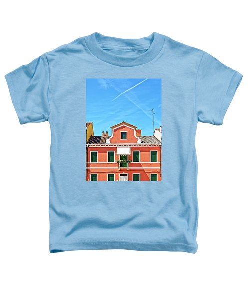 Picturesque House In Burano Toddler T-Shirt