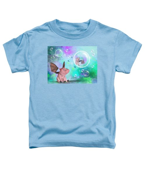 Pig In A Bubble Toddler T-Shirt